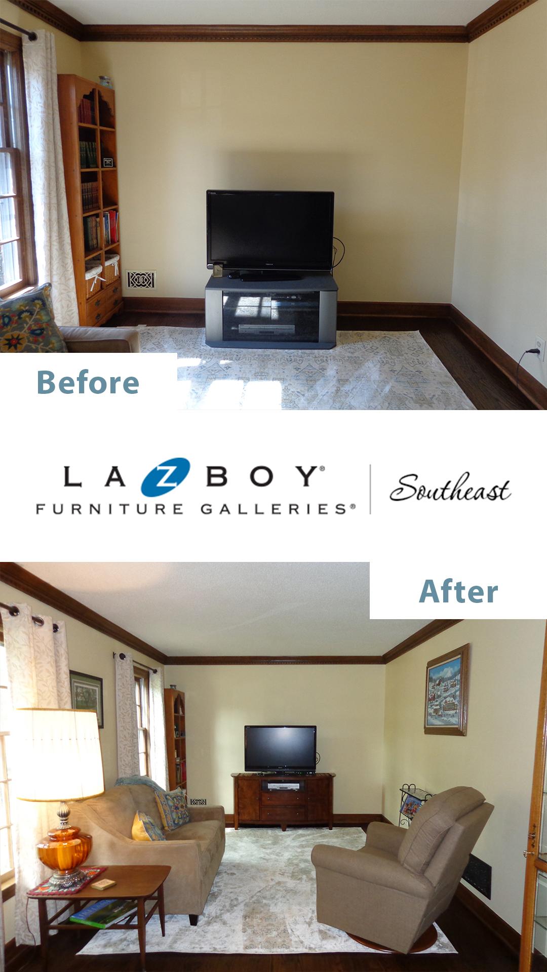 La-Z-Boy In-Home Design Before After 2