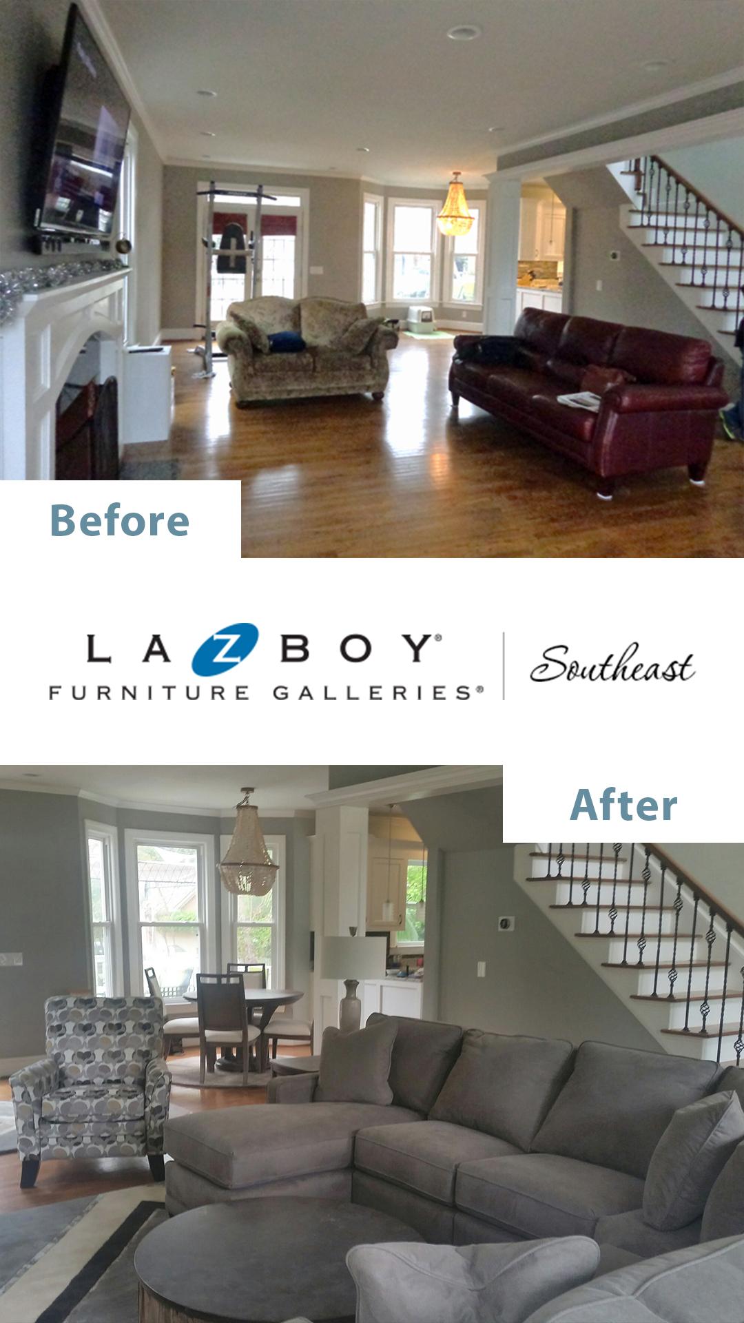 7 La Z Boy Interior Design Before Amp After Pictures