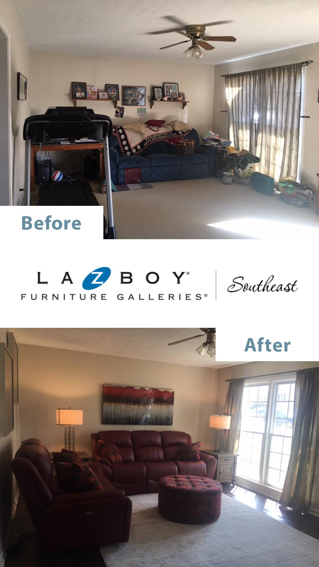 La-Z-Boy In-Home Design Before After 4
