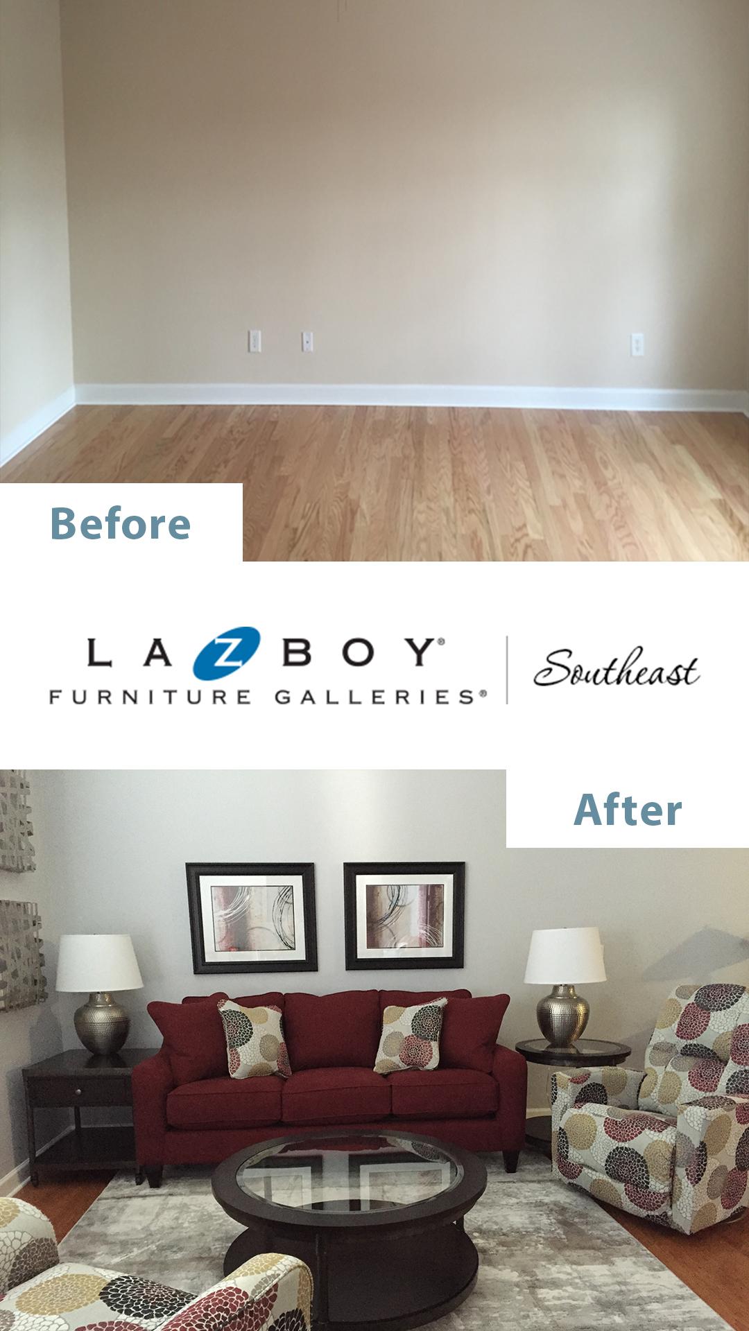 La-Z-Boy In-Home Design Before After 6