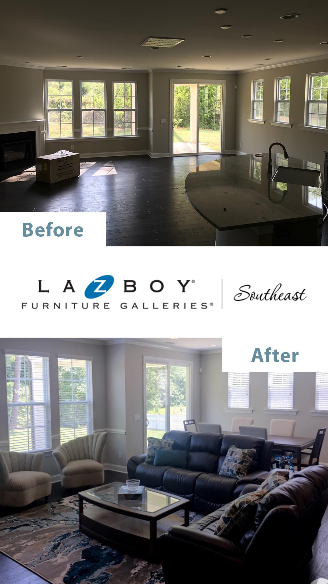 La-Z-Boy In-Home Design Before After 7