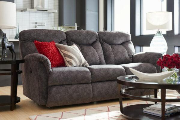 La-Z-Boy Fortune Sofa Pet Friendly Fabric D143356 Graphite
