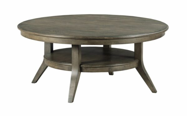 Lamont Round Coffee Table Solid Wood Furniture Cost