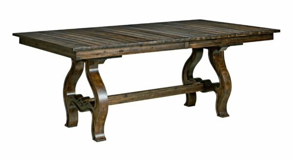 Wildfire Trestle Table Solid Wood Furniture Cost