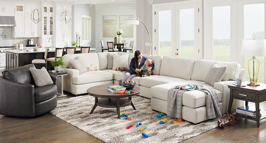 How to Style the La-Z-Boy Paxton Sectional