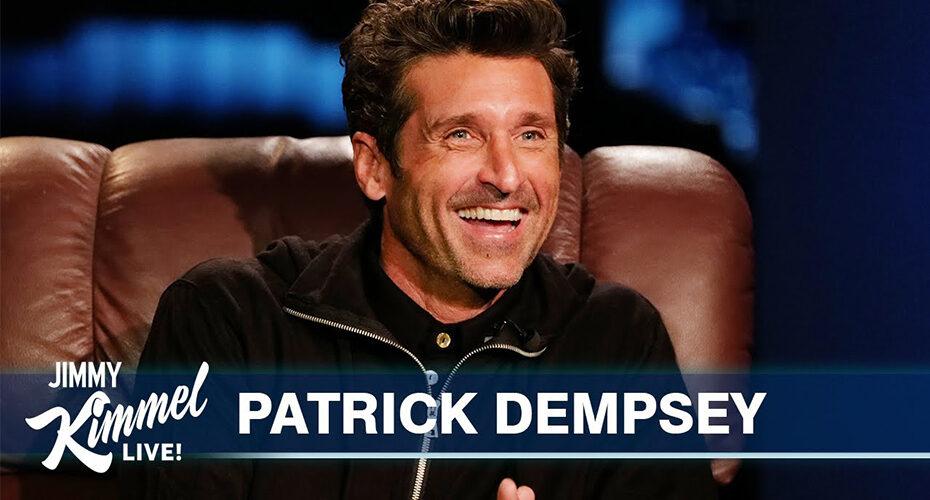 Patrick Dempsey La-Z-Boy Recliner Jimmy Kimmel Live