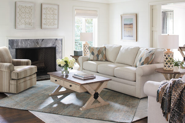 How to Style the La-Z-Boy Collins Sofa