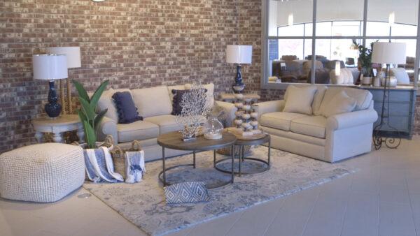 La-Z-Boy Collins Sofa Coastal Style