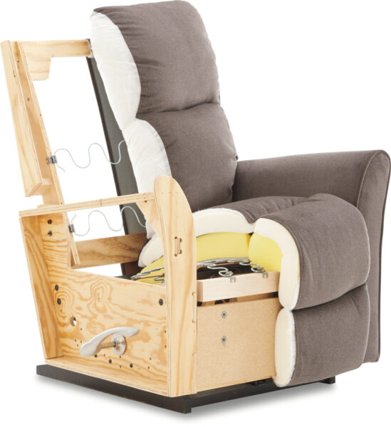 La-Z-Boy Recliner Before Buying Furniture Construction Frame Quality