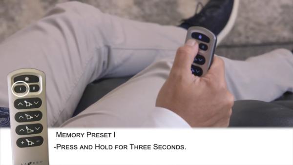 La-Z-Boy Recliner Memory Preset Button 1